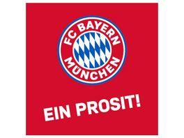FC BAYERN MUeNCHEN SMU Korkuntersetzer 4er Ein Prosit