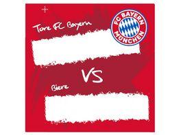 FC BAYERN MUeNCHEN SMU Korkuntersetzer 4er Tore FCB