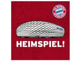FC BAYERN MUeNCHEN SMU Korkuntersetzer 4er Heimspiel