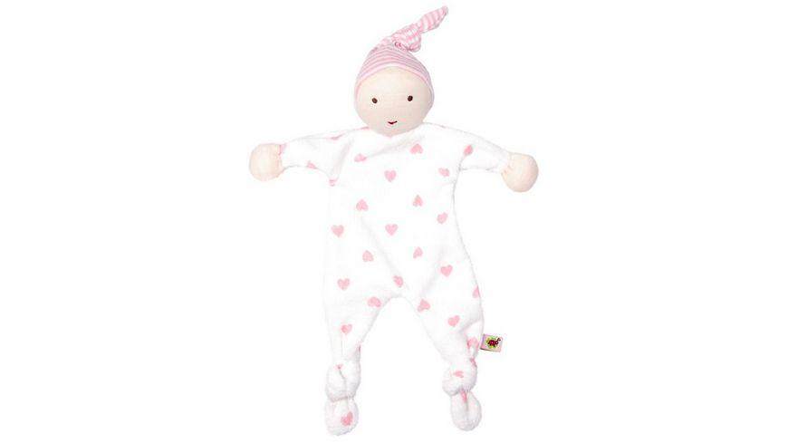 Die Spiegelburg - Schmusetuch rosa BabyGlück