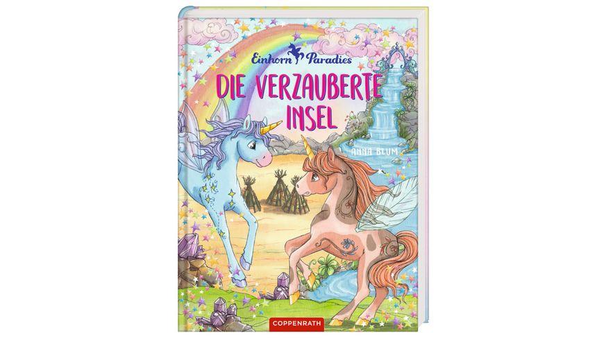 Coppenrath Verlag Einhorn Paradies Bd 5 Die verzauberte Insel Prinzessin Lillifee