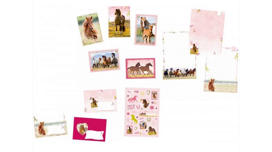 Die Spiegelburg Briefpapier Set Pferdefreunde