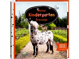Coppenrath Verlag Freundebuch Pony Dotti Meine Kindergartenfreunde Prinzessin Lillifee