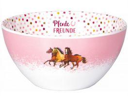 Die Spiegelburg Melamin Mueslischale Pferdefreunde