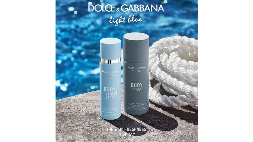 DOLCE GABBANA Light Blue Body Hair Mist
