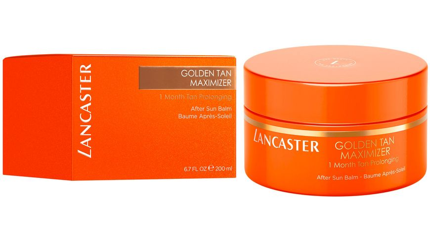 LANCASTER Golden Tan Maximizer After Sun Balm