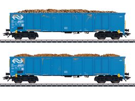Maerklin 47193 Hochbordwagen Set Ruebentransport