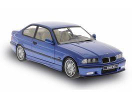 Solido 1 18 BMW E36 Coupe M3 blau