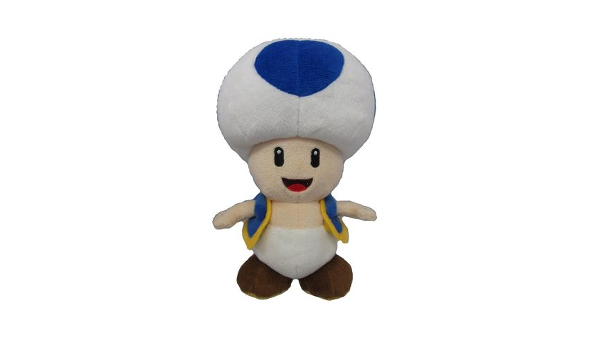 Nintendo Toad blau