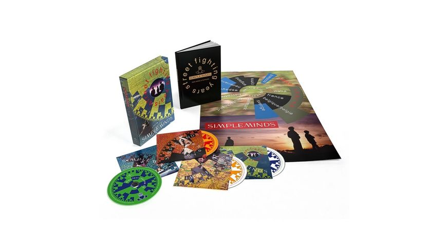 Street Fighting Years Ltd 4CD Deluxe Box Set