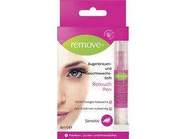 remove Retouch Pen sensitive