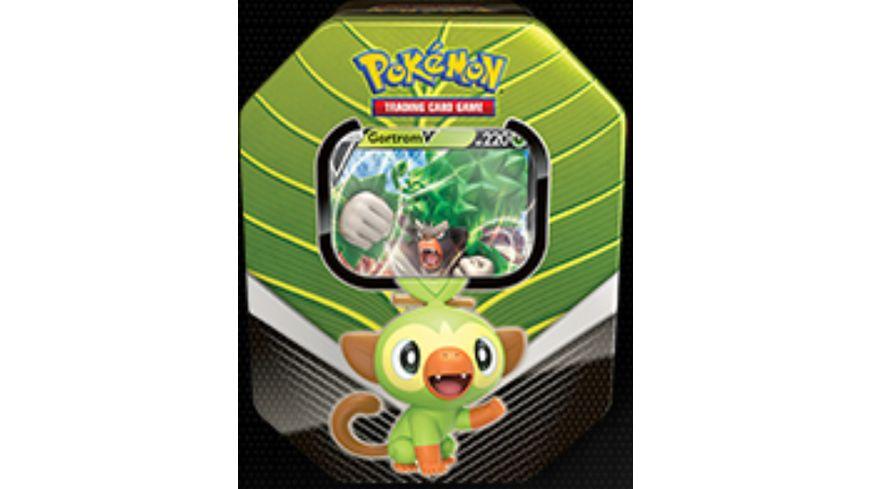 Pokemon Sammelkartenspiel Tin Box Galar Partner Nr 82 Gortrom