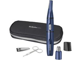 BaByliss MEN 5 in 1 Mini Trimmer Kit 7058PE Blue Edition