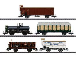 Maerklin 45175 Gueterwagen Set 175 Jahre Eisenbahn in Wuerttemberg
