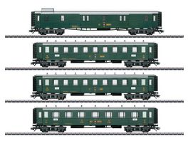 Maerklin 42388 Schweizer Oldtimer Personenwagenset