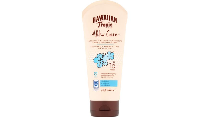Hawaiian Tropic Aloha Care Protective Sun Lotion LSF15