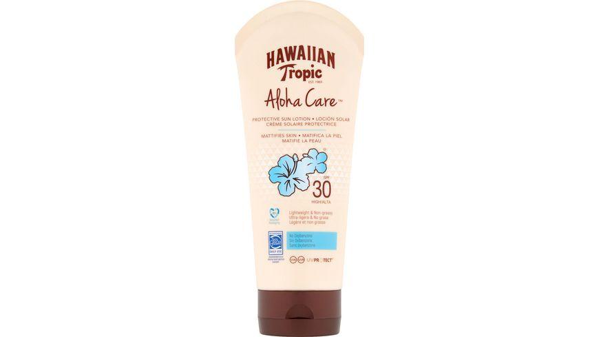 Hawaiian Tropic Aloha Care Protective Sun Lotion LSF30