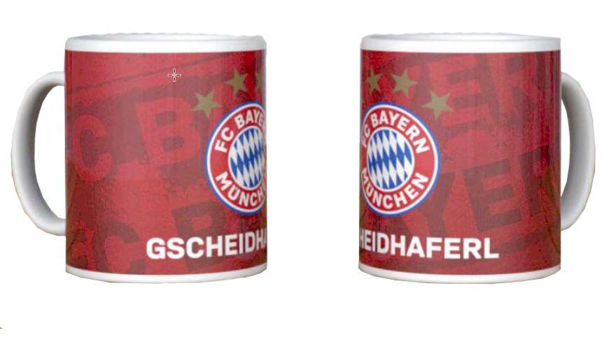 FC BAYERN MÜNCHEN SMU Tasse Gscheidhaferl