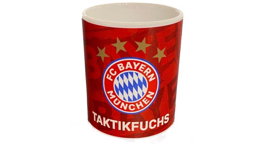 FC BAYERN MÜNCHEN SMU Tasse Taktikfuchs