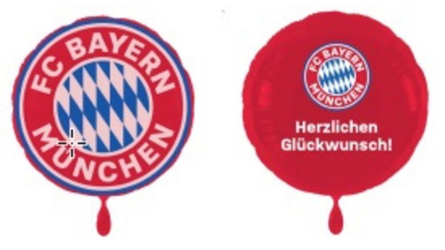 FC BAYERN MÜNCHEN SMU Folienluftballon 2er-Set Glückwunsch