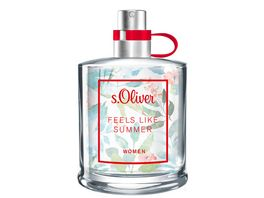 s Oliver Feels Like Summer Women Eau de Toilette Natural Spray