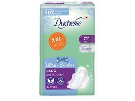 Duchesse Ultra Binden Lang mit Fluegeln