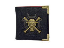 ONE PIECE Premium Geldboerse Skull