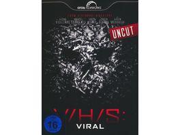 V H S Viral Uncut LCE DVD Mediabook