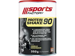 SPORTS FACTORY Proteinshake 90 Vanille