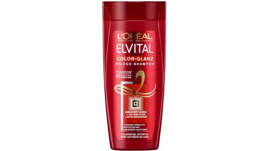 L'ORÉAL PARIS ELVITAL Color-Glanz Pflege- Shampoo