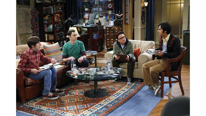The Big Bang Theory Staffel 5 3 DVDs