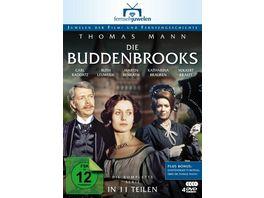Die Buddenbrooks Die komplette Serie in 11 Teilen 4 DVDs