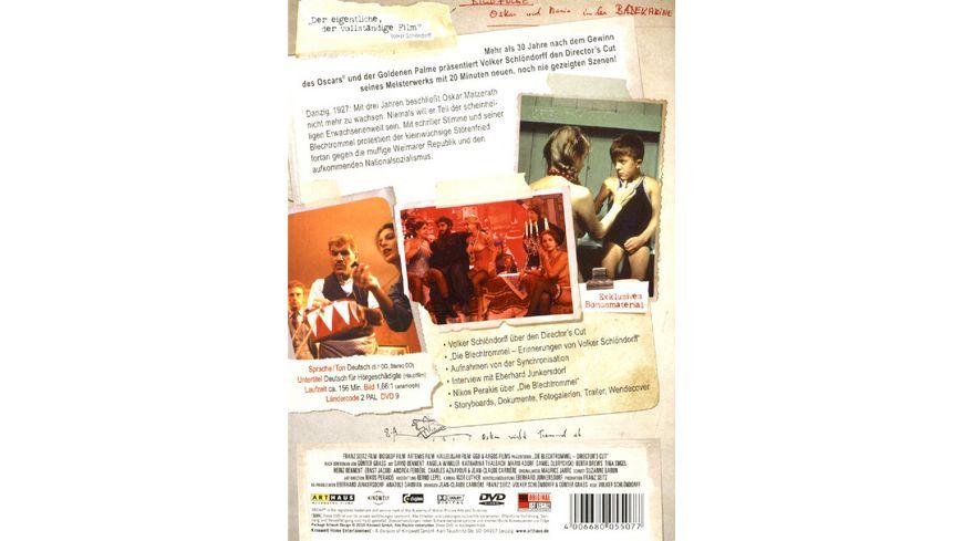 Die Blechtrommel DC 2 DVDs