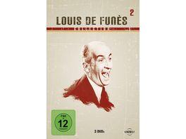 Louis de Funes Collection 2 3 DVDs