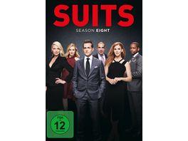 Suits Season 8 4 DVDs
