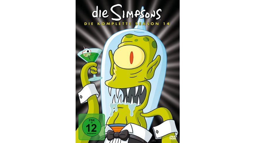 Die Simpsons - Season 14  [CE] [4 DVDs]  (Digipack)