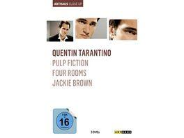 Quentin Tarantino Arthaus Close Up 3 DVDs