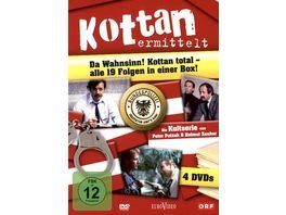 Kottan ermittelt Box 4 DVDs