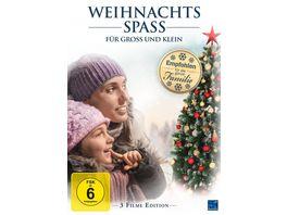 Weihnachtsspass fuer Gross und Klein 3 Filme Edition