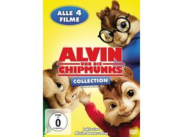 Alvin und die Chipmunks Collection Teil 1 4 5 DVDs