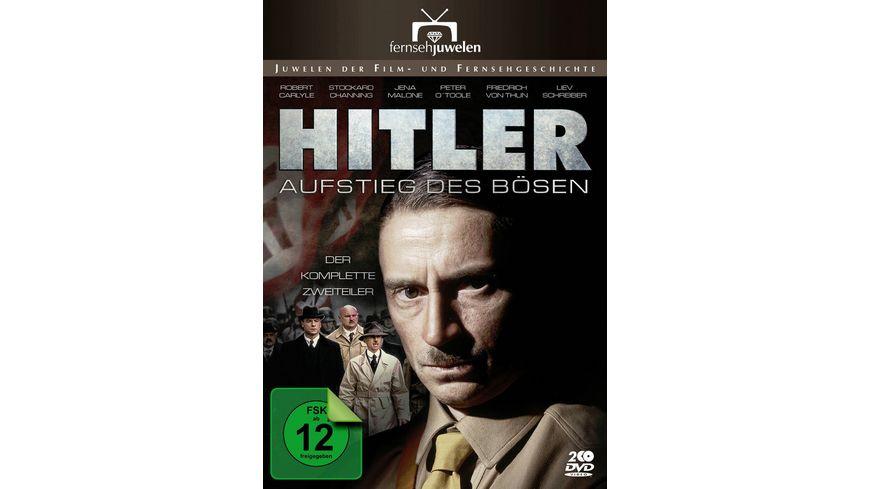 Hitler - Der Aufstieg des Bösen - Der komplette Zweiteiler  [2 DVDs]