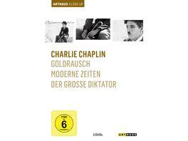 Charlie Chaplin Arthaus Close Up 3 DVDs