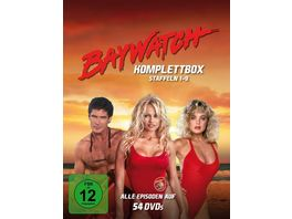 Baywatch Staffeln 1 9 Komplettbox Fernsehjuwelen 54 DVDs