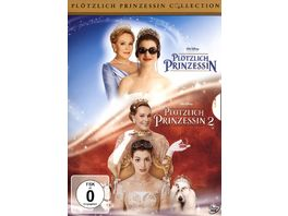 Ploetzlich Prinzessin 1 2 2 DVDs