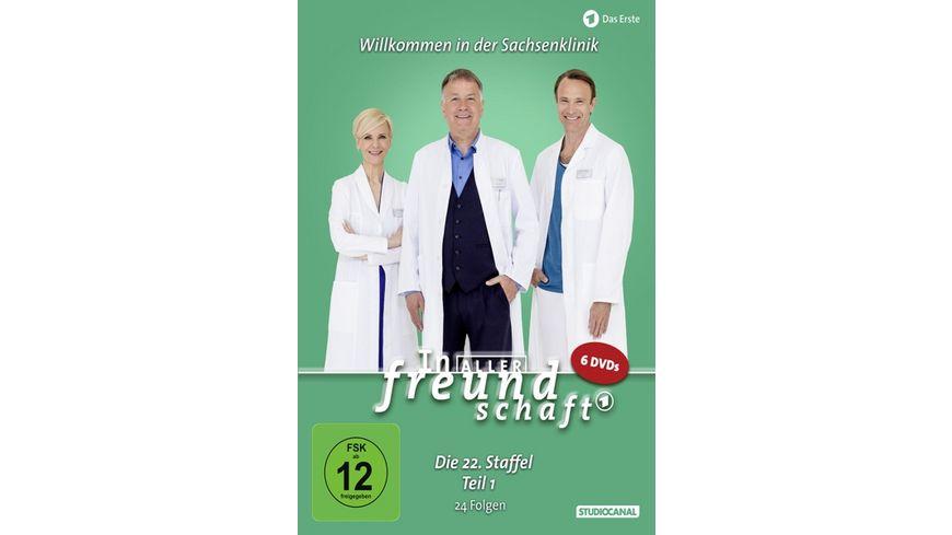 In aller Freundschaft 22 Staffel Teil 1 6 DVDs