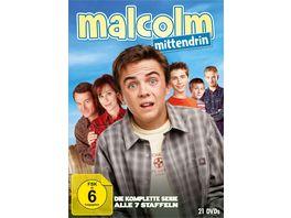 Malcolm mittendrin Die komplette Serie Staffel 1 7 21 DVDs