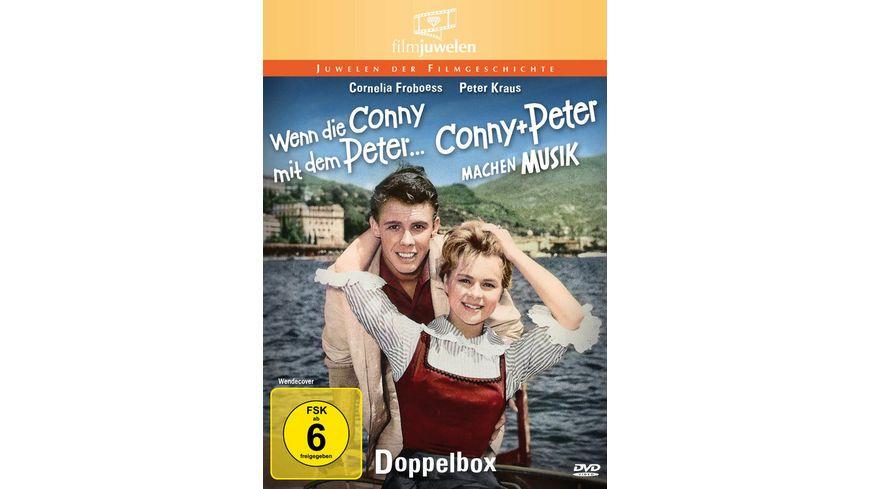 Conny und Peter Wenn die Conny mit dem Peter Conny und Peter machen Musik Doppelbox Filmjuwelen 2 DVDs