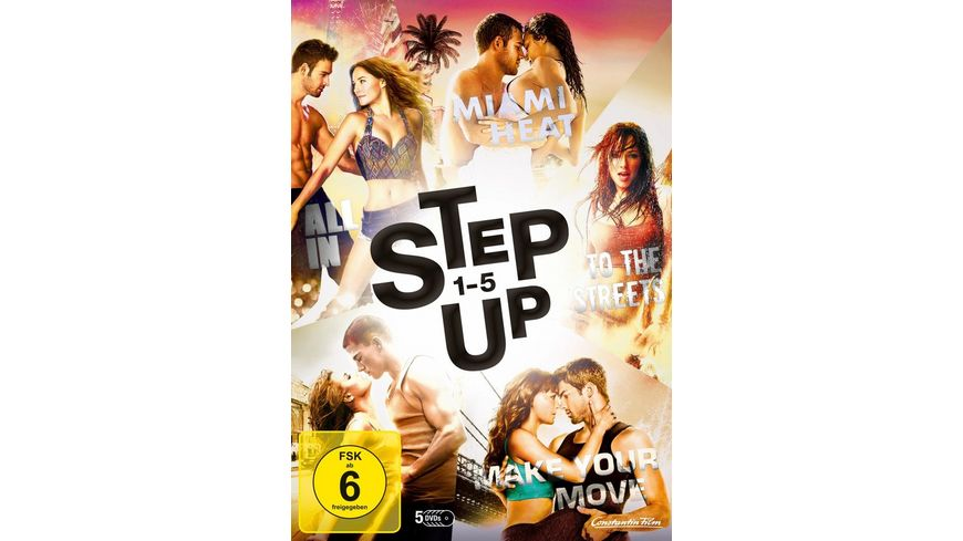 Step Up 1 5 5 DVDs