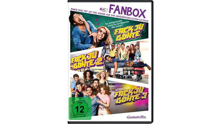 Fack Ju Goehte 1 3 Fan Box inkl Bonus Disc 4 DVDs