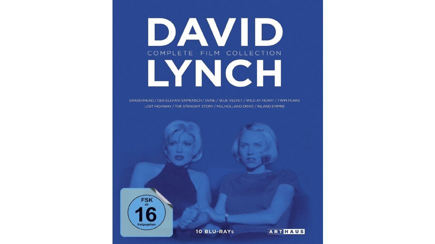 David Lynch Complete Film Collection Blu ray